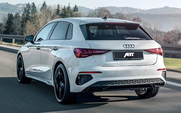 Audi A3 Sportback e VW Golf MK8