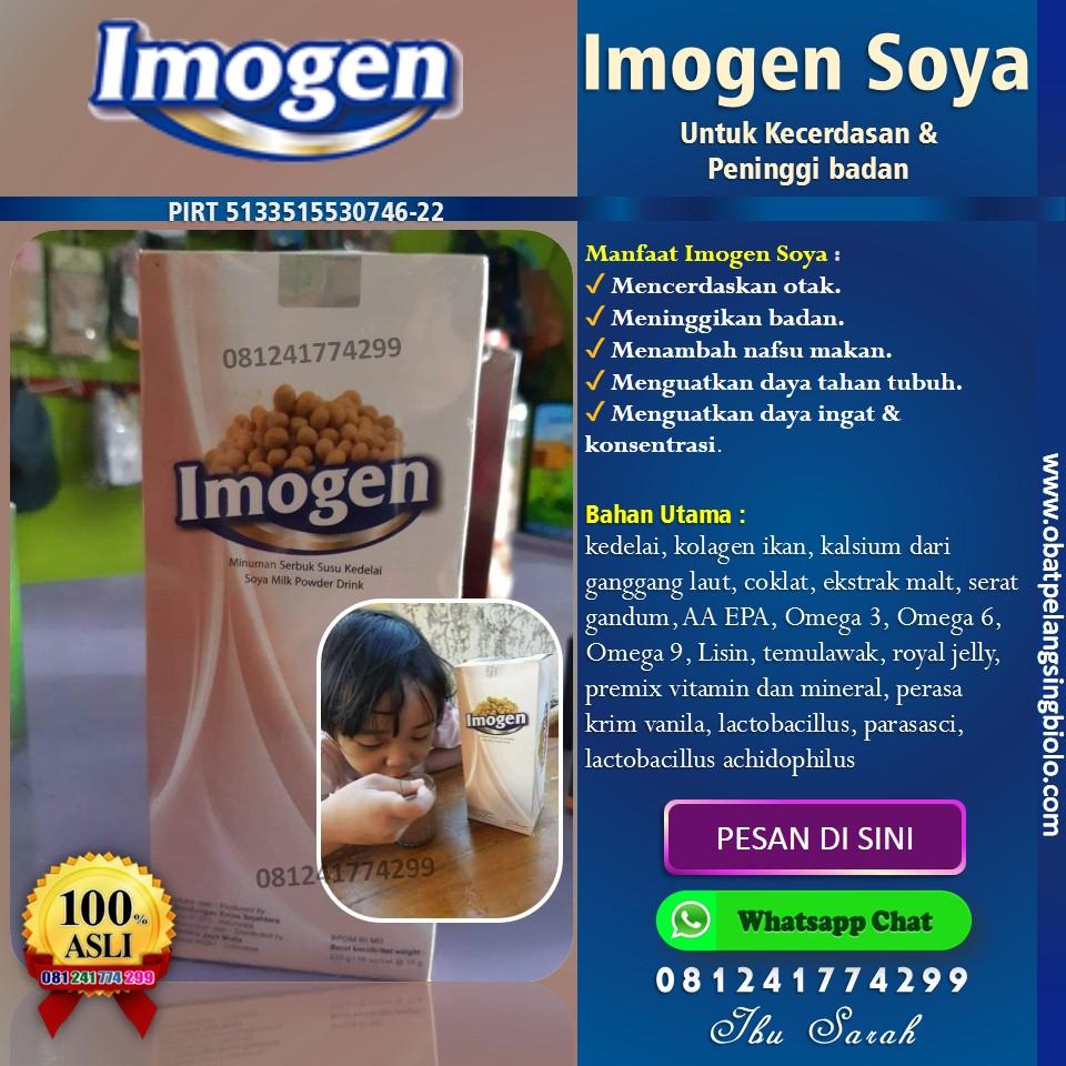imogen soya untuk anak cerdas
