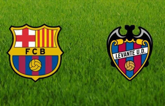 موعدنا مع مباراة برشلونة وليفانتي  ميسي اليوم 16-12-2018 لاليجا