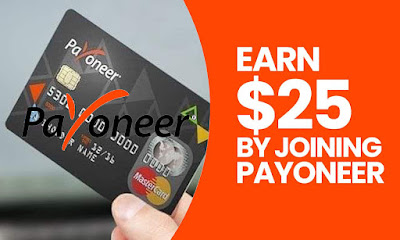 Earn 25.00 USD when you refer friends to Payoneer