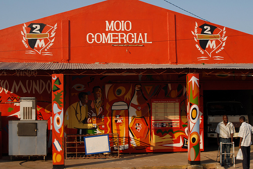 Cafe in Xai-Xai, Mozambique photo by F H Mira