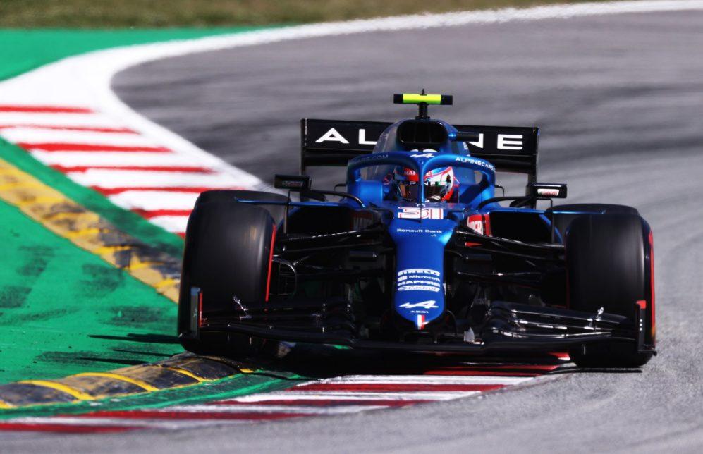 teban Ocon impressionou Alonso desde que os dois se tornaram companheiros de equipe na Alpine