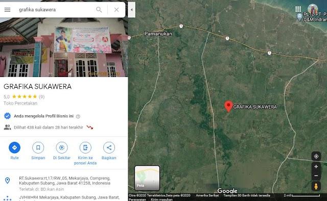 Sukawera,lokAsi PerCetakaN | gOOGle MapS