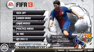 Download FIFA 13 Lite PSP Android
