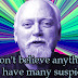 Robert Anton Wilson - Cameras Don't Lie But Editing Can
