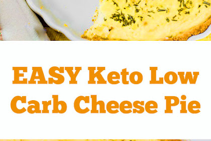 Keto Low Carb Cheese Pie Recipe - Three Cheeses - Gluten Free Crust! #ketopie #keto #lowcarb #cheesepie #pie #ketodinner #easydinner #lunch #ketolunch #glutenfree #dinner #maindish