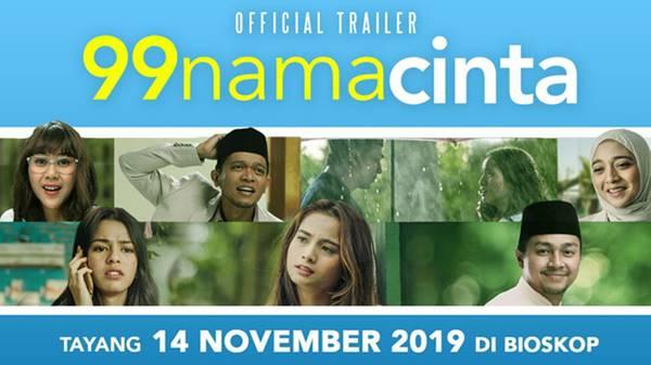 Review Film 99 Nama Cinta (2019), Tentang Pertemuan, Cinta dan Takdir