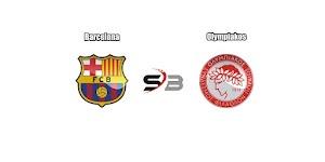 Prediksi Bola Barcelona vs Olympiakos 19 Oktober 2017