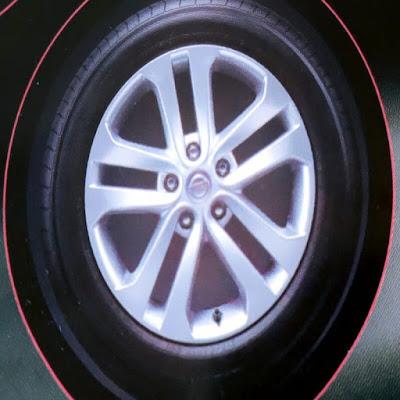 Gambar Ukuran Ban Mobil Nissan Juke Terbaru