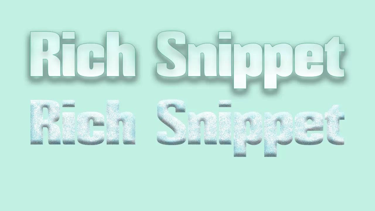 Menambahkan Rich Snippet Pada Halaman atau Postingan Tertentu