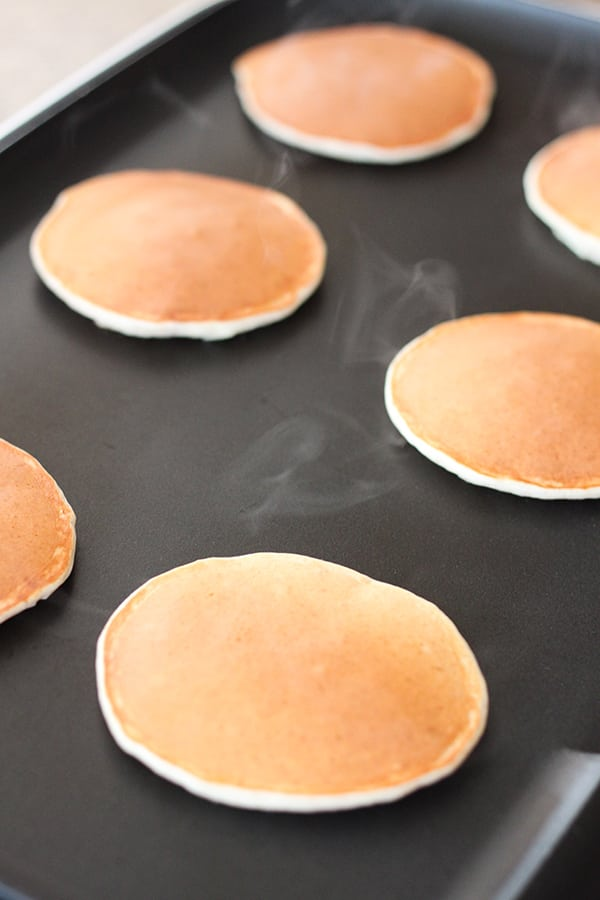 Skinny One Point Pancakes