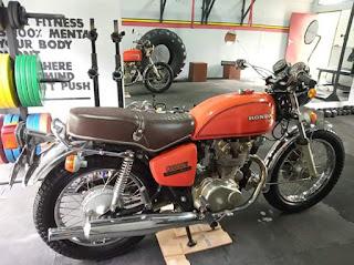 Dijual Motor Klasik Honda CB500 Kondisi Nyuuss