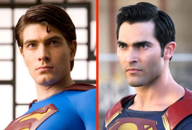 "Management of ""Crisis"": ""Supermen?"" Brandon Routh, CW Crossover Tyler Hoechlin Set"