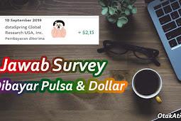 Cara Mendapatkan Uang dan Pulsa Gratis dari Surveyon