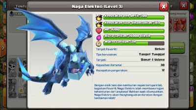 electro dragon game clash of clans