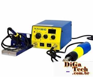 Ferramenta solda retrabalho componentes - Estação ar quente