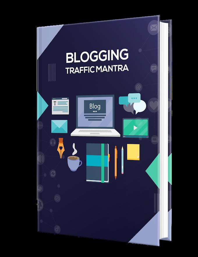 Free PLR - Blogging Traffic Mantra