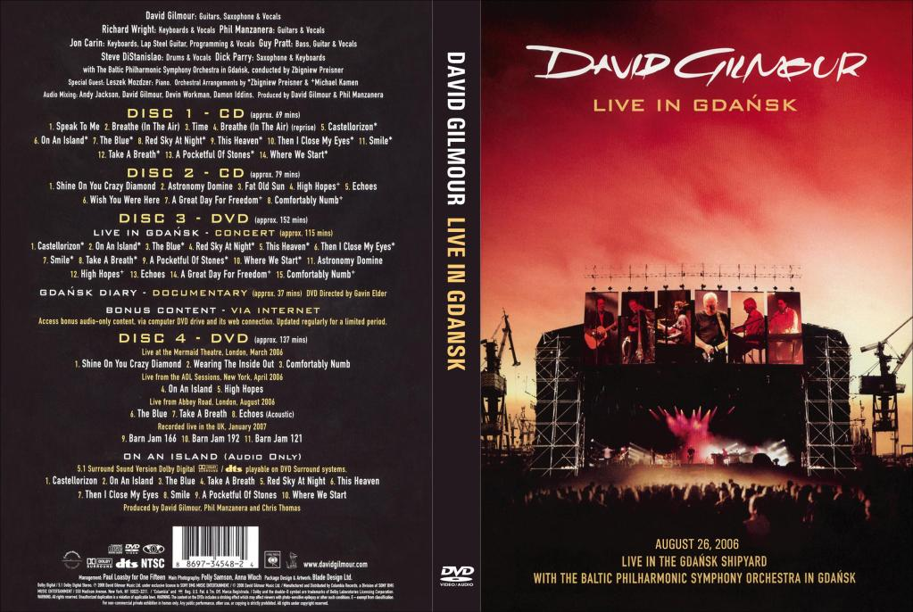 brown on the rock david gilmour pink floyd live in gdansk 2006. Black Bedroom Furniture Sets. Home Design Ideas