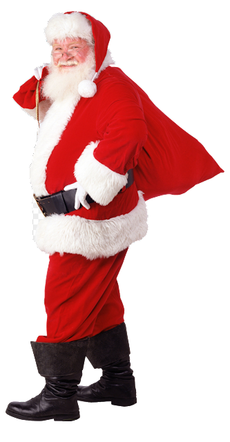 Real Santa png