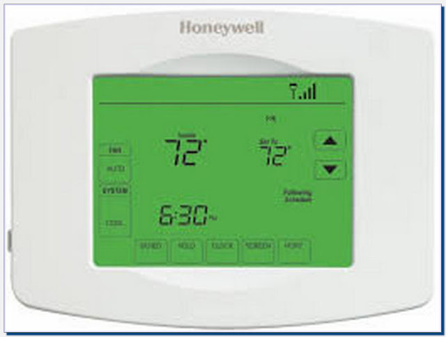 Honeywell Wireless Thermostat Remote Control