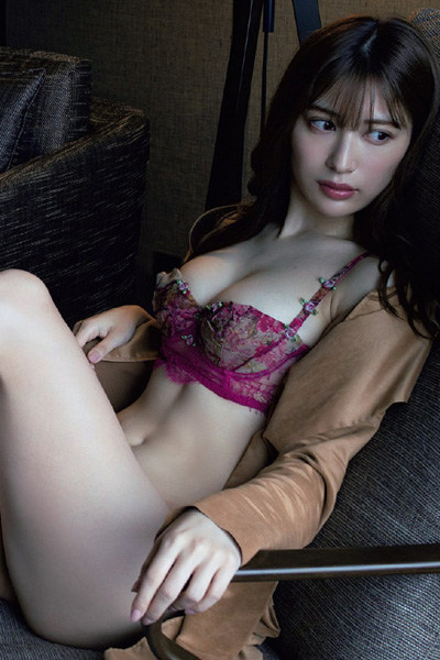Risa Yukihira 雪平莉左, Weekly Playboy 2021 No.05 (週刊プレイボーイ 2021年5号)