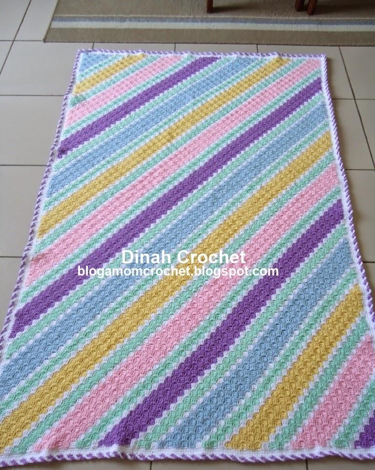 Dinah Crochet C2c Baby Blanket