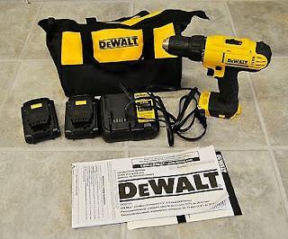dewalt dcd771c2 20v max cordless drill driver review
