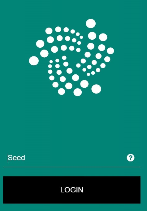wallet iota generar seed