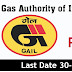 GAIL NOTIFICATION FOR 160 POST'S
