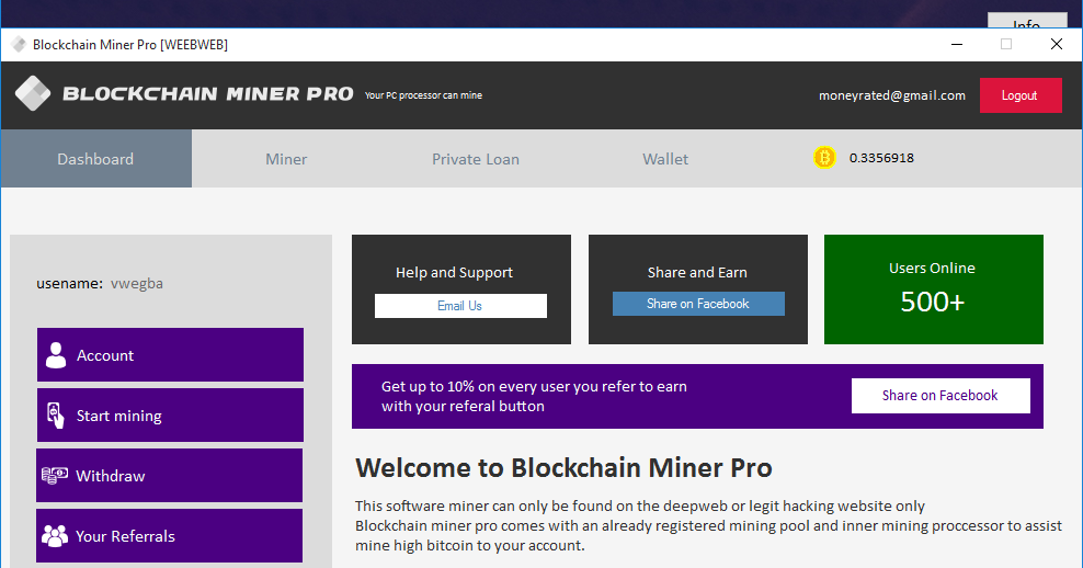 how to easily earn 0 5 bitcoin in 2 hours using blockchain miner pro mntrends