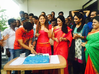 Raai Laxmi Celebrations On The Sets of Sawkarpettai | Hot Images Stills Wallpapers