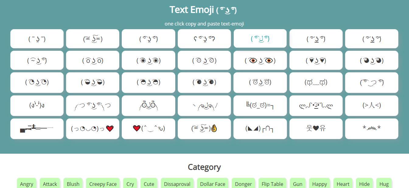 text-emoji