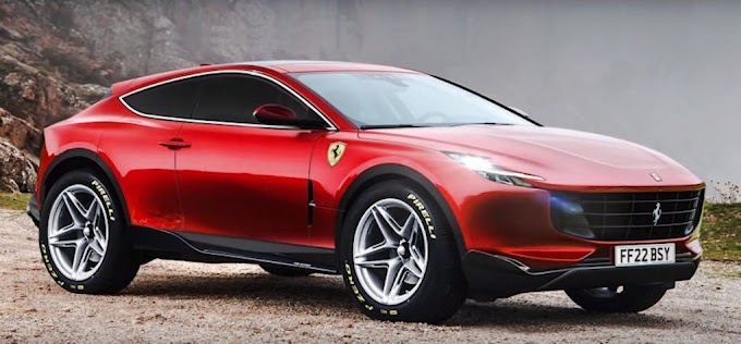 Important new information about the first Ferrari SUV in history