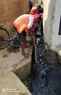 मुंगराबादशाहपुर में चलाया गया विशेष सफाई अभियान  | #NayaSaberaNetwork