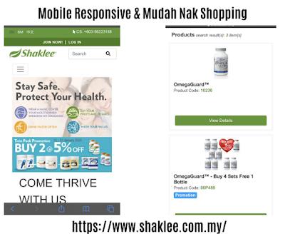 Laman Web Shaklee Terbaru