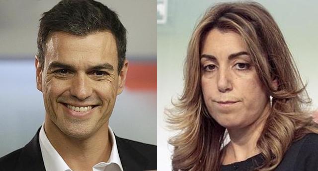 Pedro Sánchez derrota a Susana Díaz