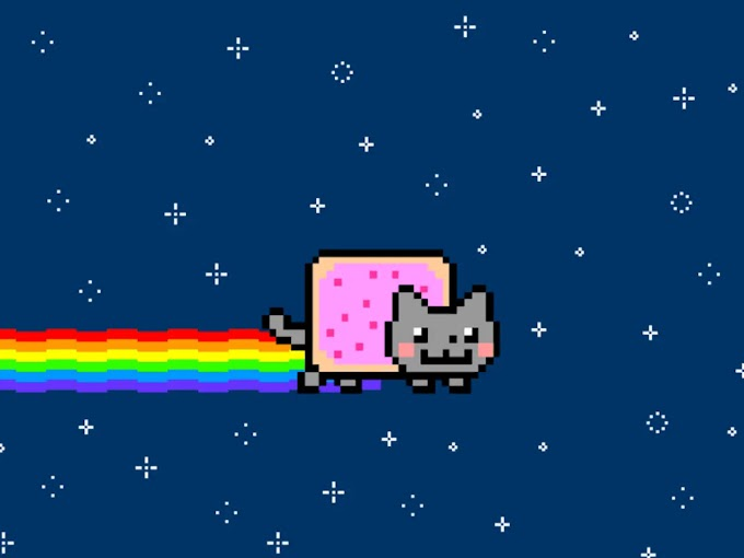 Nyan Cat meme art sells for nearly $600,000 as a one-of-a-kind piece of crypto art