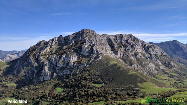 Peña Mea desde la cima del Pico Formoso