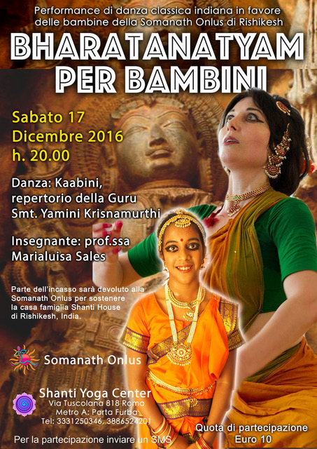 danza indiana bharatanatyam roma