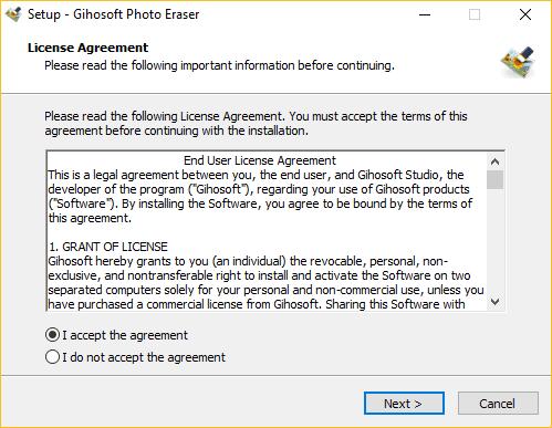 برنامج حذف أي شخص من الصورة Gihosoft Photo Eraser بسهولة
