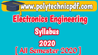 Electronic Syllabus Even semester Odd Semester 2020