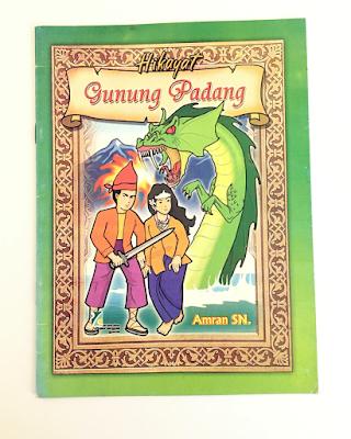 """Buku Cerita Fiksi, """"Hikayat Gunung Padang"""