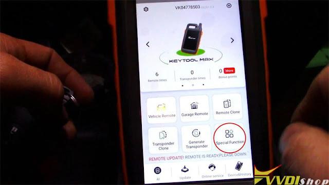 xhorse key tool max mini obd toyota 8a smart key 3