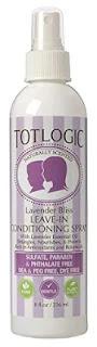 TotLogic Kids Detangler Spray and Leave In Conditioner