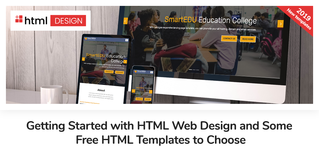 Getting Started With Html Web Design And Some Free Html Templates To Choose