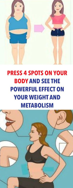 Press 4 Spots On Your Body & See The Powerful Effect On Your Weight & Metabolism