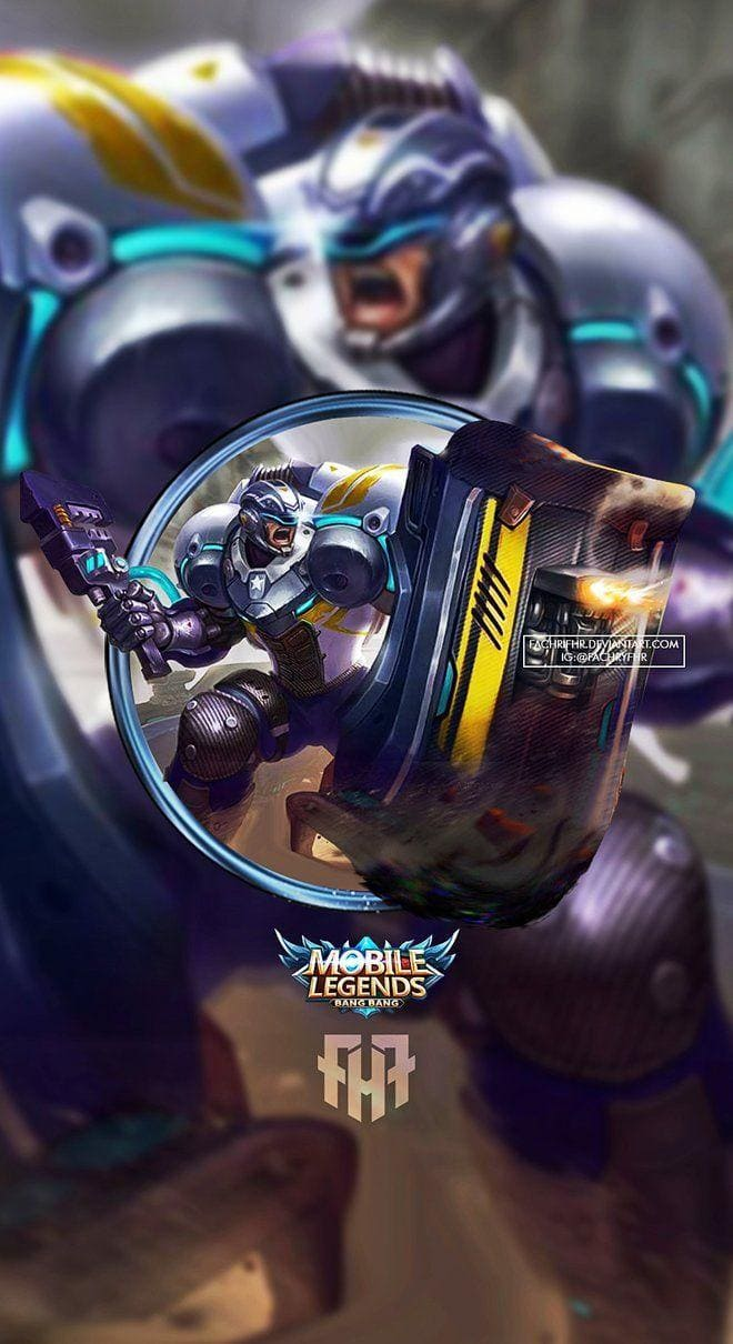 Wallpaper Johnson Mustang Skin Mobile Legends HD for Android and iOS