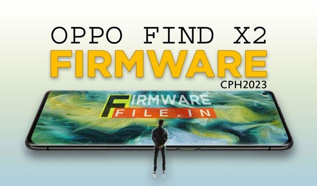 Oppo Find X2 Firmware