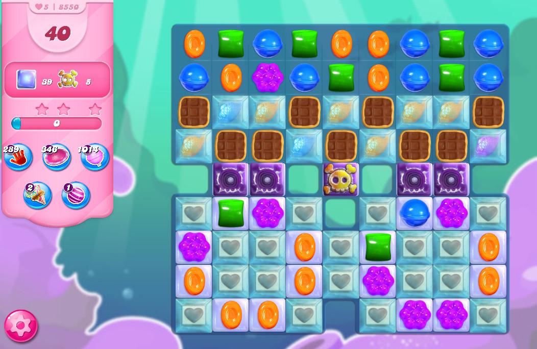 Candy Crush Saga level 8550