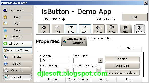 isButton OCX For VB6 Full Source Project   Download Game PC indonesia RIP